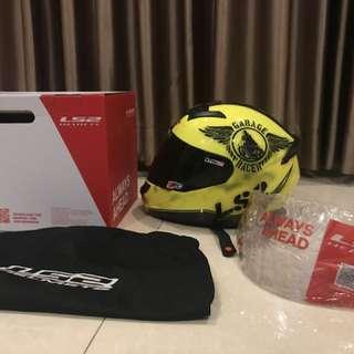 LS2 helmet rookie