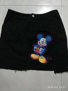 Mickey mouse skirts look new