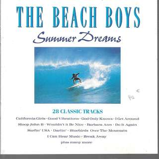MY PRELOVED CD - THW BEACH BOYS - SUMMER DREAM - 20 CLASSIC TRACKS- /FREE DELIVERY (F3V)