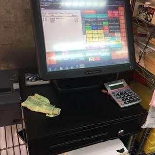 POS cash register Machine
