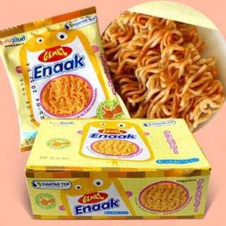 現貨不用等!韓國 Enaak 小雞麵 單包16克