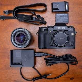Fujifilm X-T1 & Fujinon 18-55mm Lens