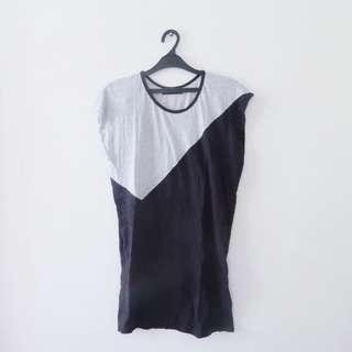 Black&Grey Dress by d'loops
