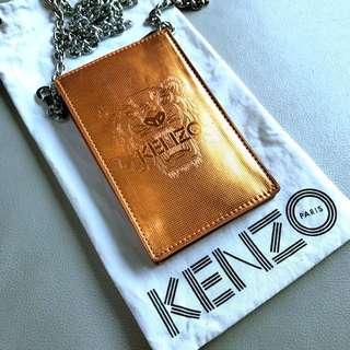 Kenzo tiger phone case (Orange Metallic )