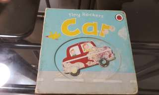 Baby hardcover book - Car