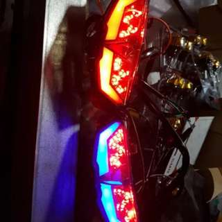 Xabre stop lamp + signal lamp