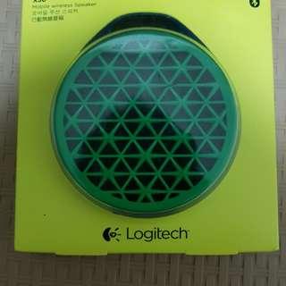 Logitech Bluetooth X50 Green Mobile Wireless Speaker