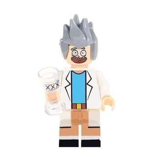 [LESTE] Science-fiction Sitcom Rick Minifigure