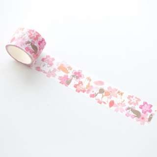 Only 1 Instock! (Mix & Match)*Nekomi Sakura Inu Theme Washi Tape