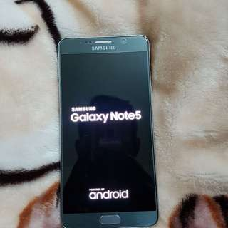 Note 5 gray