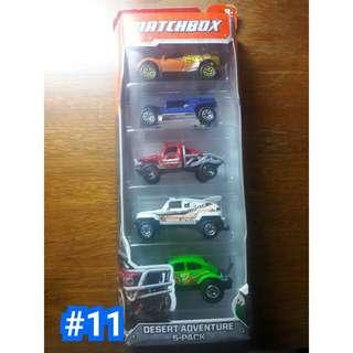 Matchbox 5 pack diecast cars by mattel