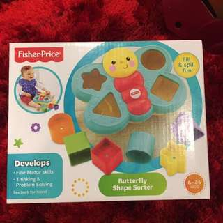 Butterfly Shape Sorter