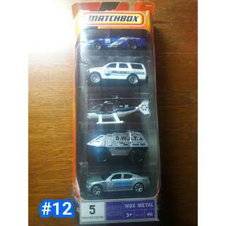 Matchbox 5 pack diecast cars by mattel
