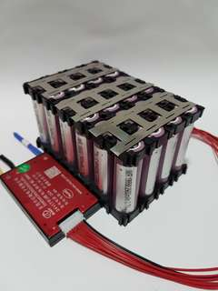 Customised EScooter and EBike Lithium Ion 18650 Battery packs (24v, 36v, 48v, 52v, 60v 72v)