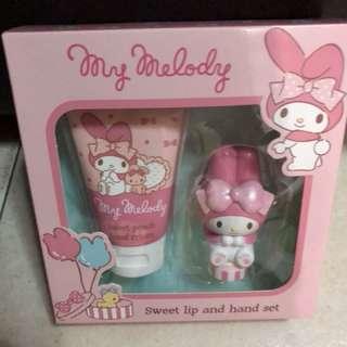 Me Melody Hand cream &lip balm