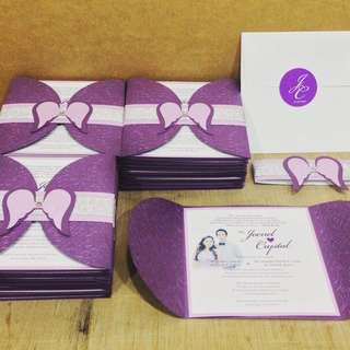 Creative Wedding, Birthday or Events Invitation Cards