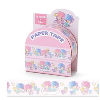 Restock only 3 pcs! (Mix & Match)*Sanrio Japan Little Twin Stars Paper Tape - 15mm
