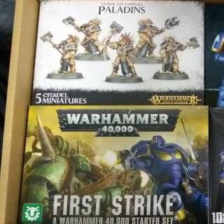 Warhammer | Paladins & 40k