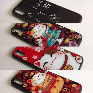 iPhone X手機套Mon貼