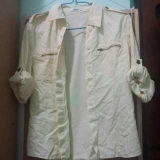 Veeko 黃色恤衫外套