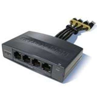 Cisco 4-port POE Injector 802.3af with original 48V power adapter