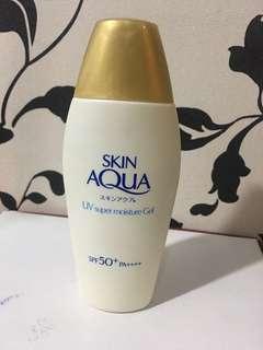 Skin aqua uv moisture gel sunblock japan