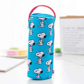 Only 2 Instock! Snoopy Pencil Case with Handheld Strap