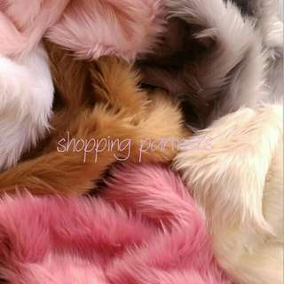 1 Yard Fur Fabric
