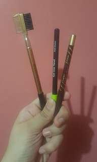 Eyebrow pencil set