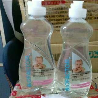 加拿大天然清潔劑:Biofactor奶瓶蔬果清潔劑