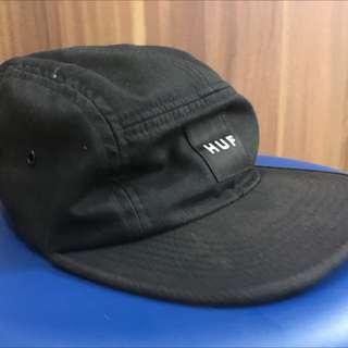 HUF 黑色五分割帽