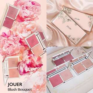 [預訂🔥] Jouer Cosmetics Blush Bouquet | Dual Blush Palette