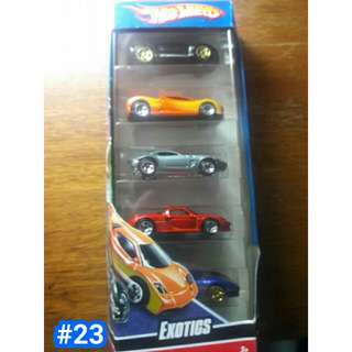 Hotwheels exotics