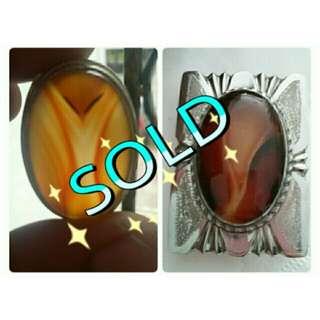 (SOLD)Lam alif special promotion (cincin dan buckle)