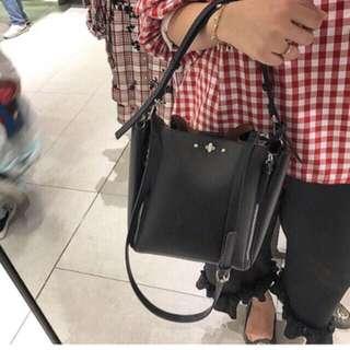 Zara Bucket Bag with Zipper