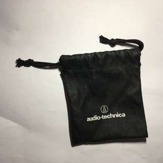 鐵三角 audio technica 耳機袋 earphone bag