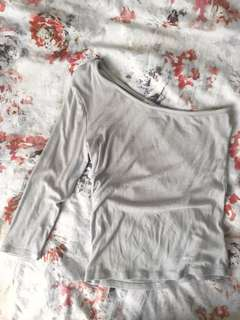 UO: Silence + Noise Lilac Top
