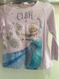 Frozen Elsa long sleeves