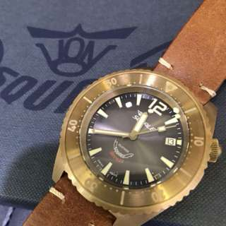 Squale bronze Limited Edition not seiko tudor omega