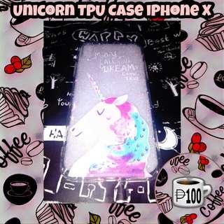 Unicorn TPU Case iPhone X