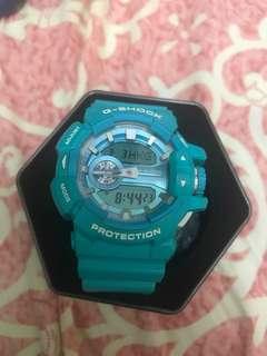 G-Shock Watch 薄荷綠錶 real 原價$1500