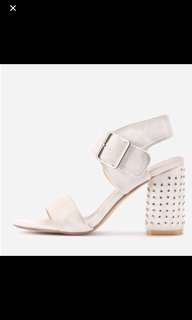 BLOCK HEELS New with tags
