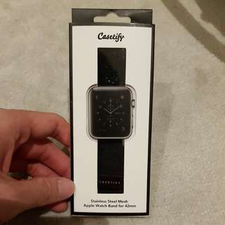 Casetify Apple Watch Band Stainless Steel Mesh 42mm