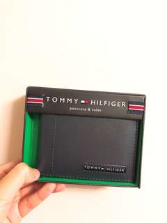 TOMMY HILFIGER WALLET NAVY BLUE