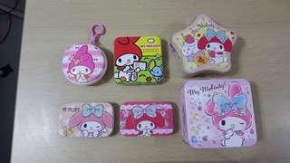My Melody 鐵盒6個