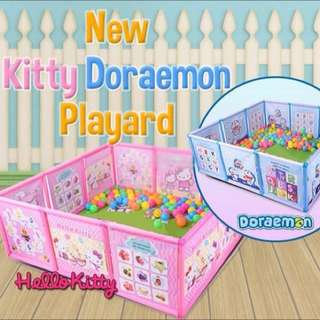 Hello Kitty Or Doraemon Playard