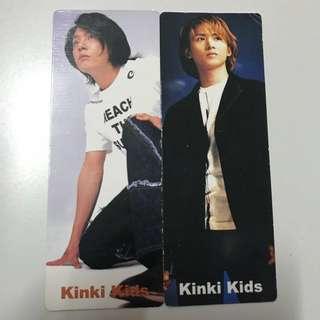 Kinki kids書簽(雙面)