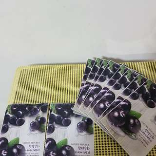 Mask Sheet 10pcs =$10