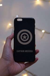 Case Captain America Iphone 6s, 6