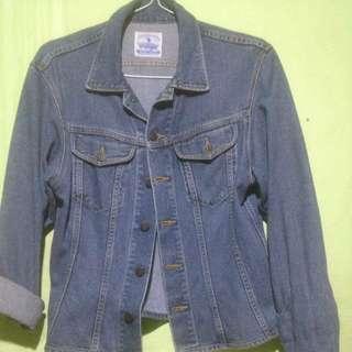 reprice->wrangler lady denim jacket
